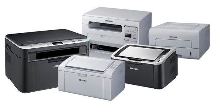 несколько лазерных принтеров